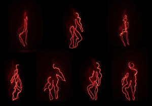 Ανθρωπομετρίες Φωτογραφική καταγραφή ακτίνας λέηζερ, Μεταβλητές διαστάσεις