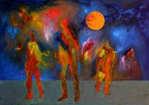 Energy, oil on canvas 100Χ70cm 2011